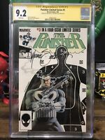 Punisher 3 Cgc 9.2 Limited Series 2x Signed Beatty Zeck