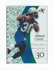 1998 E-X2001 #46 Ahman Green RC Rookie Packers Seahawks