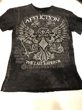 Affliction Fedor Emelianenko The Last Emperor T-Shirt Size Small