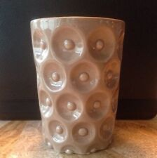 NEW Modern Ceramic Beige Earthy Flower Vase/Pot for Arrangements/ See all Photos