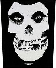 The Misfits Skull sew-on back patch   360mm x 300mm (rz)