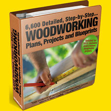 7,610 NEW DIY WOODWORKING PLANS: SHEDS, DECKING, HOUSES/CABINS KENNEL GREENHOUSE