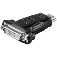 HDMI HD Stecker Eingang auf DVI-D 24+1 Monitor Kupplung weiblich Ausgang Adapter