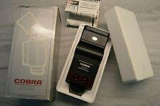 Cobra 700AF AutoFocus Flash Gun With Original Box & Instructions