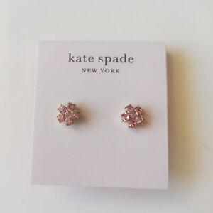 New Kate Spade Rhinestone Flower Stud Earrings Gift Fashion Women Party Jewelry