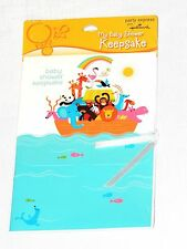 NEW~NOAH'S ARK~ 1-BABY SHOWER  KEPPSAKE   PARTY SUPPLIES MULTI-COLOR
