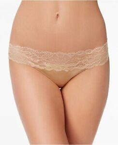 calvin klein Seductive Comfort Lace Thong Nude M QF1199