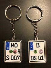 Schlüsselanhänger mit Wunschtext, Motorrad, Geschenkidee, Harley-Davidson, Honda