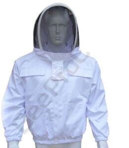 Poly Cotton Bee Jacket Protective beekeeper beekeeping Astronaut Veil hood