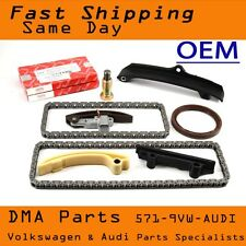 OEM MK4 VW Timing Chain Kit VR6 12 valve AAA Engine Jetta GTI Eurovan Main Seal