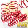 For 2016-2017 Chevy Camaro Front Rear Performance Lowering Springs Red Kit