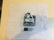 2 New York Riveters Rally Towel NWHL National Women's Hockey League Aviator
