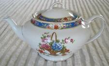 John Maddock and Sons Flower Basket For Cup Teapot Made in England