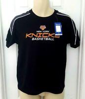 NEW YORK KNICKS Youth Jersey Shirt Size XL Black Majestic NBA Basketball New