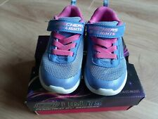 Skechers Light Up Trainers Girls Infant Size 7