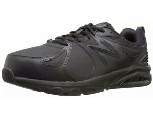 New Balance Mens MX857V2 Low Top Lace Up Running Sneaker, Black, Size 13