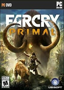 Far Cry Primal - PC Standard Edition For Windows.. (Win 7 /8 / 10).. NEW