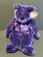 "TY Beanie Buddies 1998 Princess Diana teddy bear - 14"" tall w/ tag"