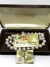 Kitami Shell Based Pearl Necklace And Case