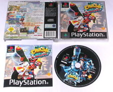 "PSX PlayStation juego ""Crash Bandicoot 3 Warped"" completamente"