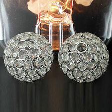 Ersatzglas 6507 Wofi Holly Kristall Glas Kugel Dreh Gewinde Chrom Schirm