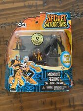 Cartoon Network The Secret Saturdays Mini Action Figures Midnight Feeding 2009