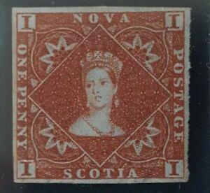 Nova Scotia # 1. Used  with certificate
