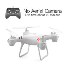 Four-axis aircraft model, drop-resistant remote-control aircraft,white