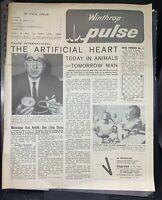 Winthrop Pulse vintage medical journal, 1964, Australia, science news