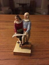 Vintage Austrian Vienna Figurine, Royal Lady and Gentleman, Carolers, Zuzana