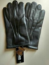 NWT Austin 3m Thinsulate Black Leather Gloves NEW HIGH QUALITY GENUINE LEATHER