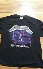 METALLICA Vtg Ride The Lightning T Shirt Tee 1994 Tour Concert size Large