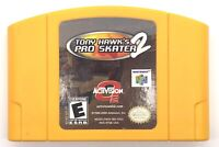 Tony Hawk's Pro Skater 2 (Nintendo 64 N64, 2001) ~Game Only~ Authentic