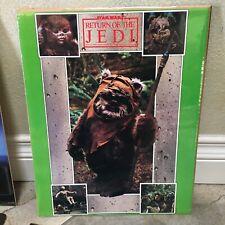 "Star Wars Return Of The Jedi Poster Ewoks 11""x14"" Lucas film Limited 1983 Sealed"