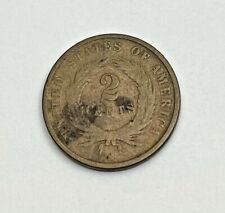 1867 2 Cents United States Coin