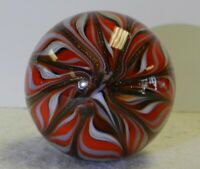 #11550m Handmade Contemporary Marble With Lutz 1.58 Inches
