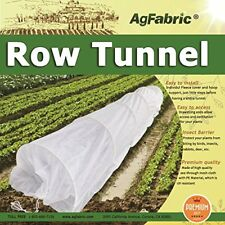 Hoop House Kit, Mini Greenhouse Grow Tunnel, Floating Row Cover with Hoops 24ft