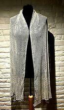 More details for excellent original art deco 1930's silver assuit shawl - good condition
