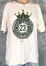 Official NIKE LEBRON JAMES NBA St. Vincent St. Mary IRISH Basketball XL T-Shirt