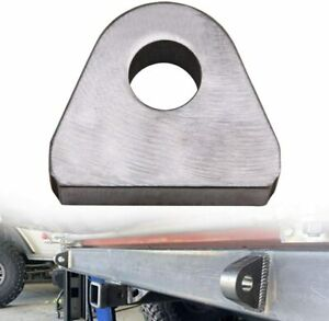 """Weld on Shackle/Clevis Mounts 1"""" Thick Steel"""