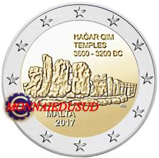 2 Euro Commémorative Malte 2017 - Temple de Hagar Qim