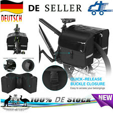 28L Fahrradtasche Gepäckträger Packtaschen Wasserdicht Satteltasche Pendeltasche