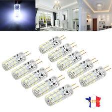 10X Ampoule fraîche maïs capsule G4 LED SMD remplacent halogène 12V 1.5W blanc