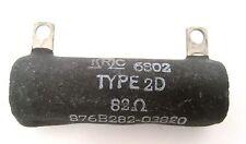Vintage IRC 82-Ohm 25-Watt 5% Ceramic Power Resistor