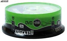 DVD-RW Maxell per l' archiviazione di dati informatici