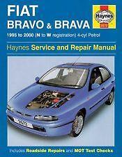 Haynes Owners+Workshop Car Manual Fiat Brava & Bravo Petrol (95- 00) N to W 3572