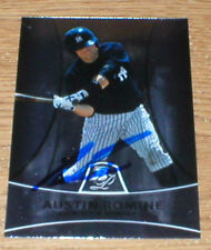 Tigers Austin Romine RC  Autographed Card