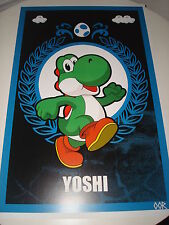 "Yoshi Super Mario 24"" x 36"" poster print"