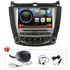 koolertron Autoradio DVD GPS Navigation Satnav Stereo For Honda Accord 2003-2007