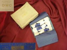 1900s ANTIQUE COTTON EMBROIDERY THREADS IN ORIGINAL BOX - PARIS
